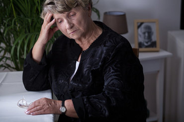 suffering from bereavement - see a counsellor